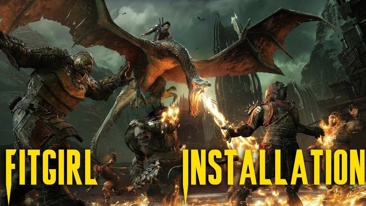 How to Install Middle Earth Shadow of War Repack FitGirl on Windows