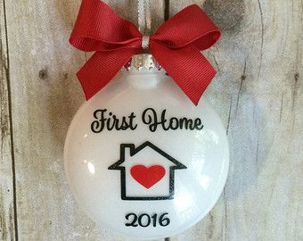 our first home ornament new house ornament first by weloveaparty rh pinterest com
