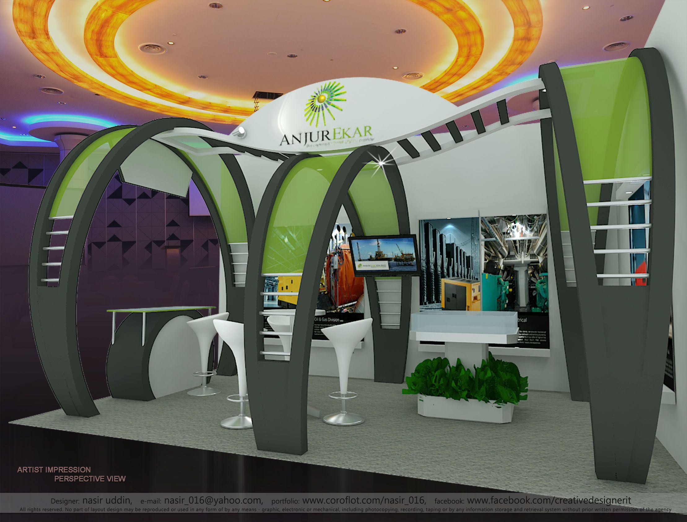 Anjur Ekar Malaysia Exhibition Stall Kiosk