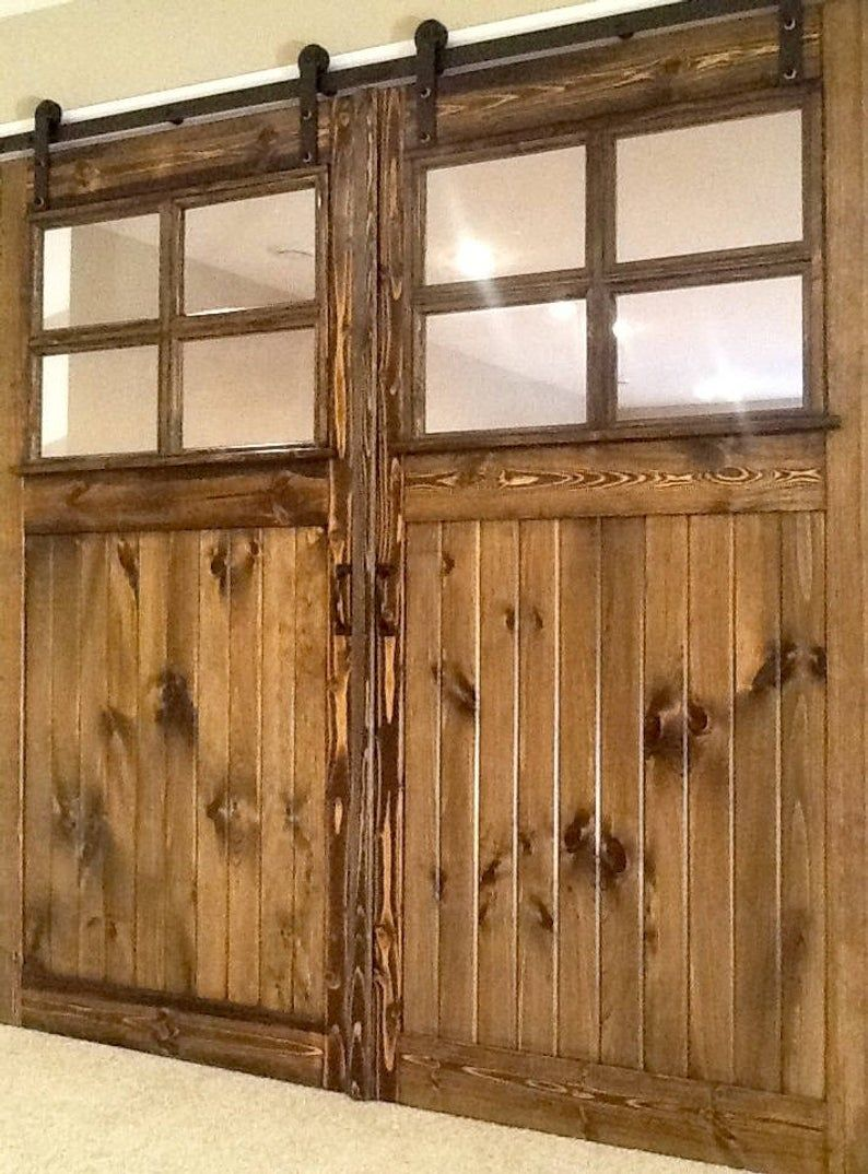 Sliding Barn Door Vintage and Antique Style Farmhouse