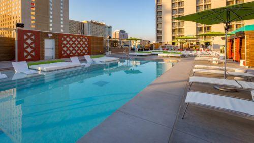 Plaza Hotel In Las Vegas Nevada Pool