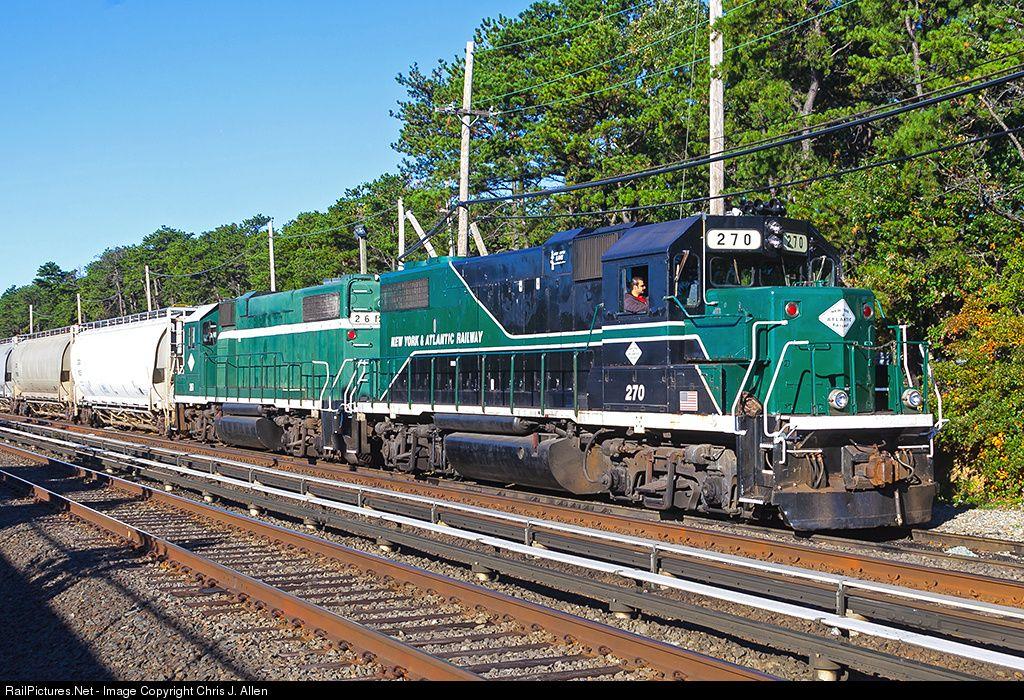 Railpictures Net Photo Nya 270 New York Atlantic Railway Emd Gp38 2 At Brentwood New York By Chris J Allen