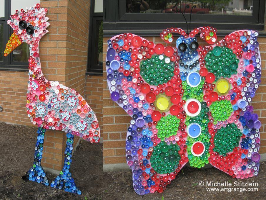 Michelle Stitzlein makes educational art pieces out