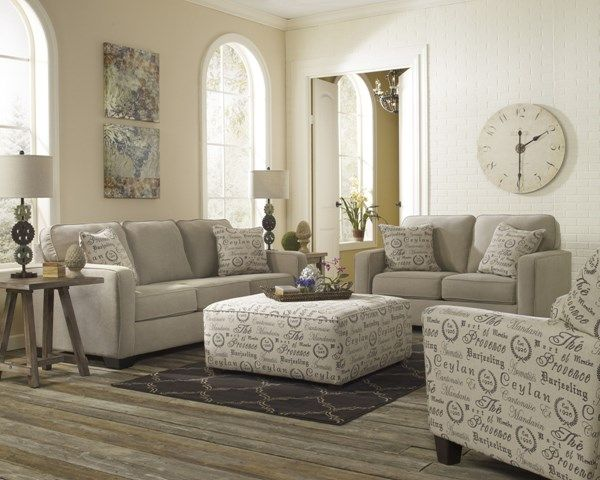 Alenya Casual Fabric Cushion Back Living Room Set Living Room Sets Beautiful Living Rooms Living Room Collections