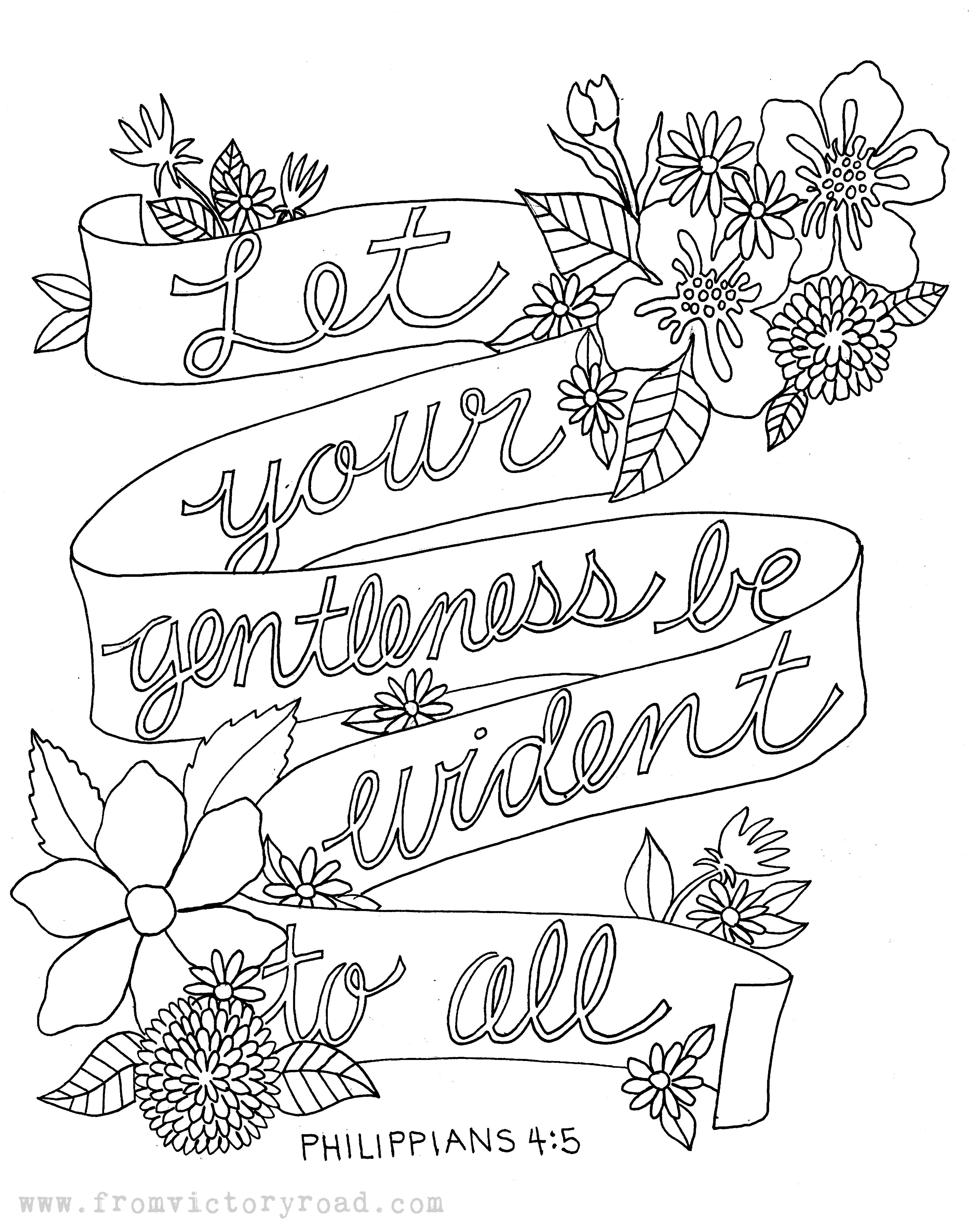 Feb 17 2014 Titus 3 2 Coloring Page Bible Coloring Pages Bible