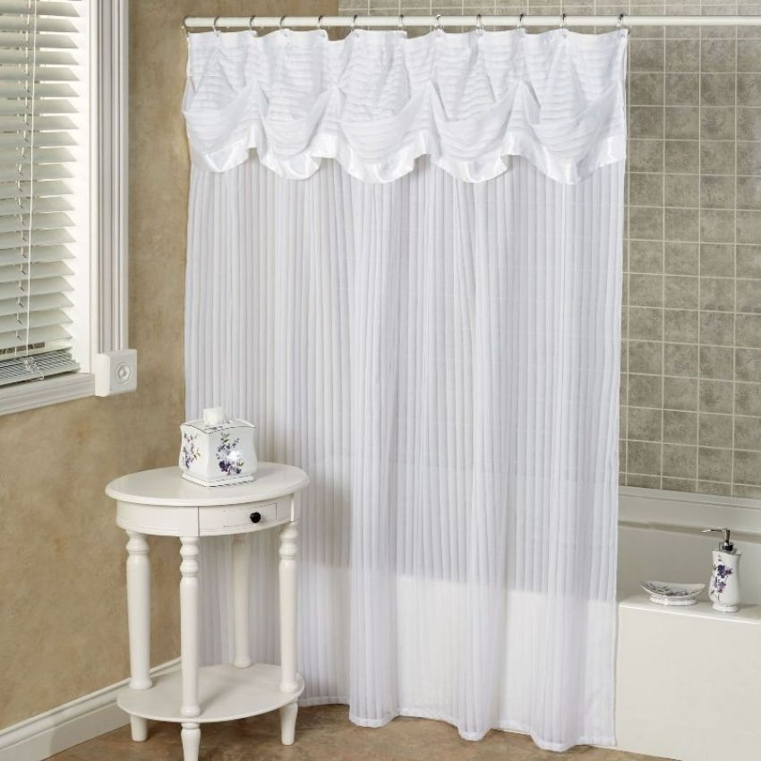 Top 20 Designer Shower Curtains With Valance Elegant Shower