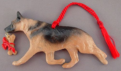 German Shepherd Dog Christmas Ornament At For Love Of A Dog