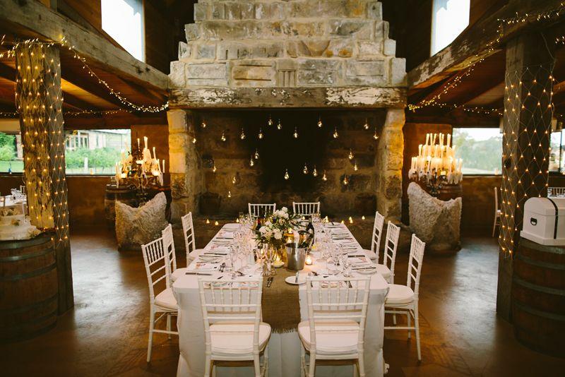 Peppers Creek Barrel Room Wedding Hunter Valley Wedding Venue Image Cavanagh Photography