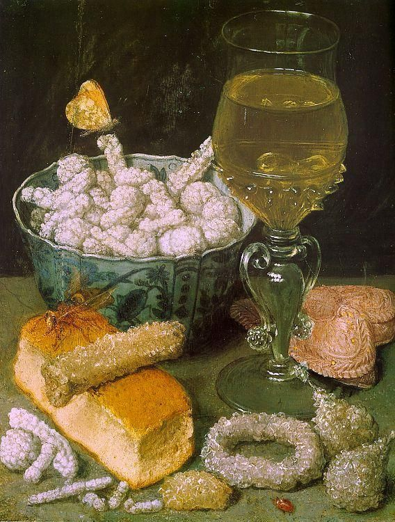 §§§ : Still Life with Bread and Confectionery : Georg Flegel : 1566-1638 http://commons.wikimedia.org/wiki/Georg_Flegel