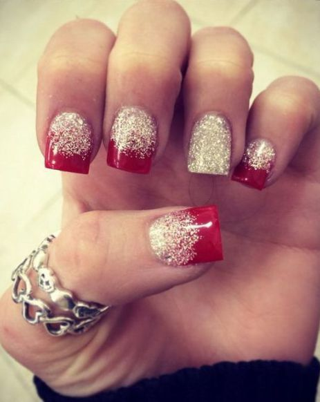 17 Fresh and Fashionable Red Nail Designs | nails | Red ...