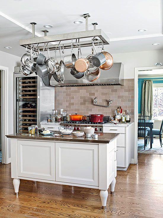 58 cool kitchen pots and lids storage ideas kitchen organization rh pinterest com
