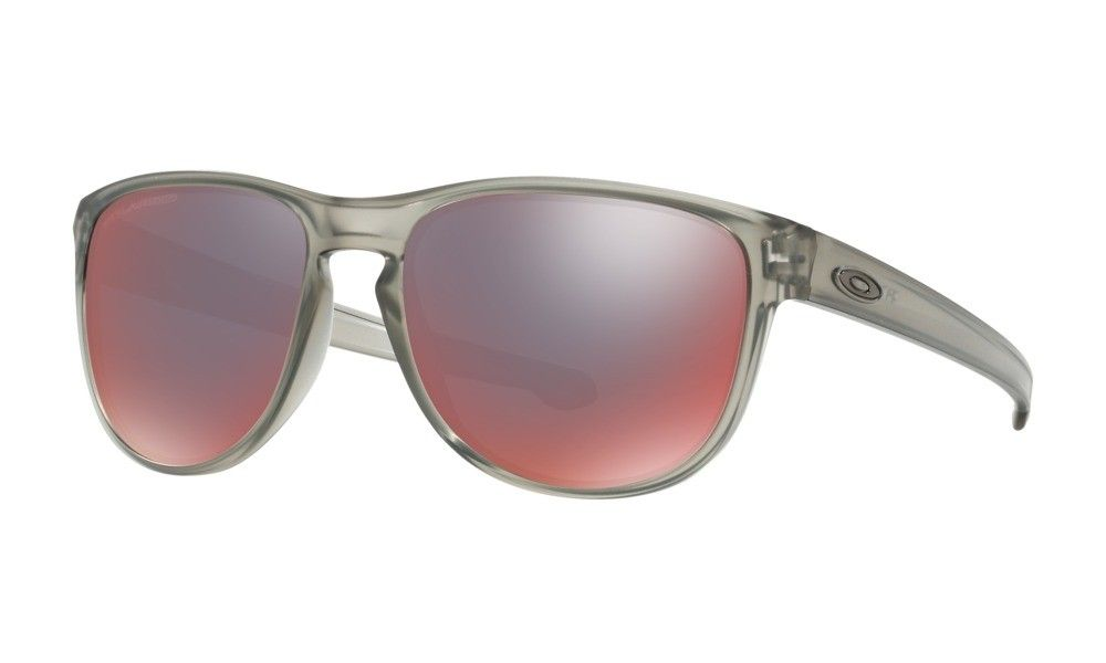 77fdf2c04ee Oakley Sunglasses Sliver Round Polarized Womens Gray Ink Frame NO. OO9342-03
