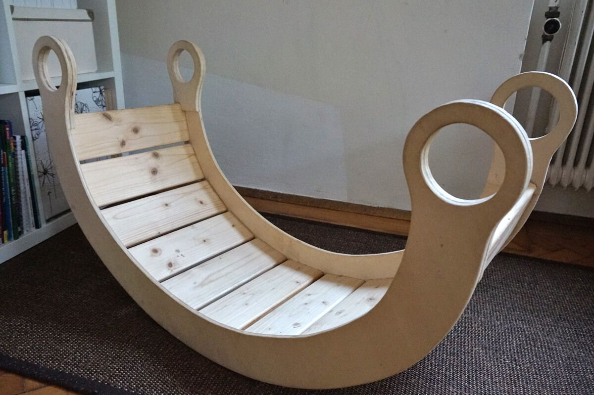 Kletterbogen Anleitung : Schaukelwippe aus holz diy toys pinterest for kids
