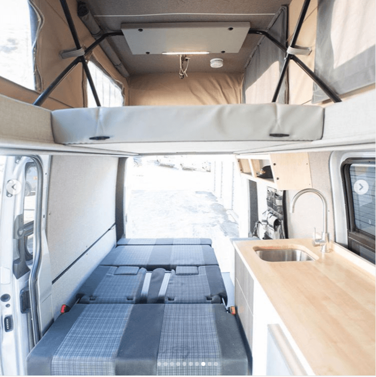 Best Camper Van Layouts For Families In 2020 Van Conversion