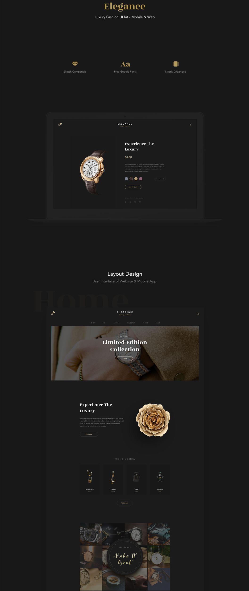 Elegance is a website u0026 mobile app