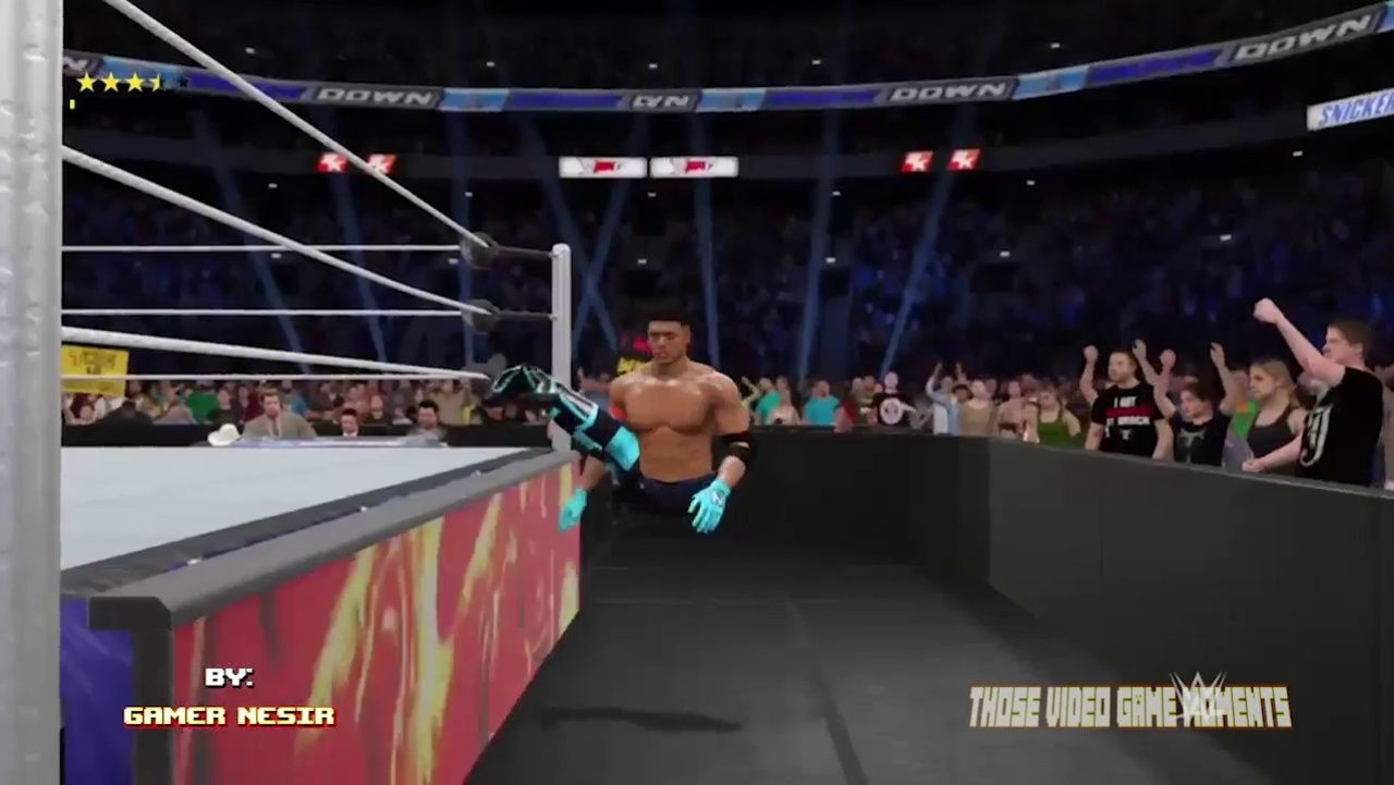 wwe2k17 wwe swag swagger gamephysics physics lol funny