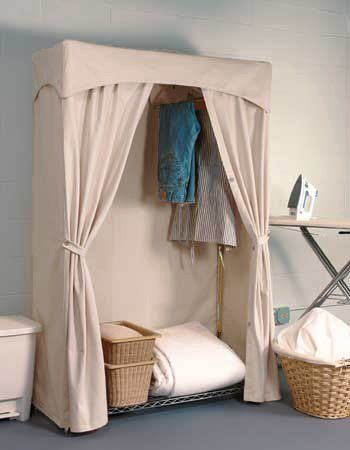 Yep This Is How I Ll Create My Wardrobe Cover Luxurious No Closet Solutions Slipcovers Canvas Wardrobe