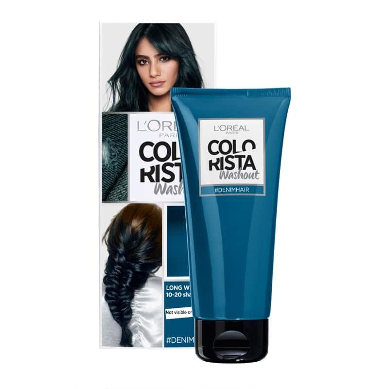 L Oreal Paris Colorista Washout Denim Blue Semi Permanent Hair Dye