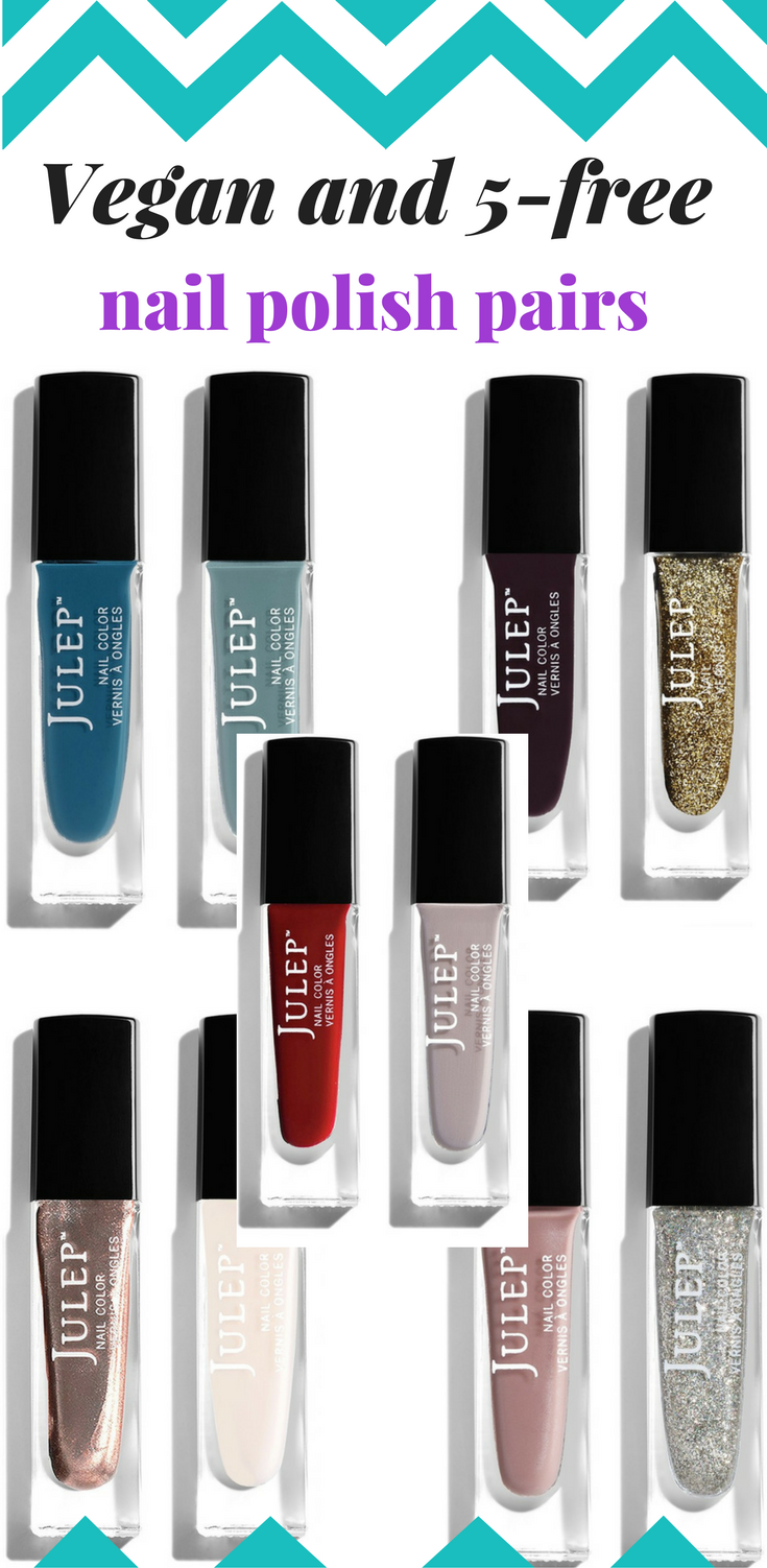 Julep Vegan and 5-Free Nail Polish Pairings #nailpolish #vegan ...