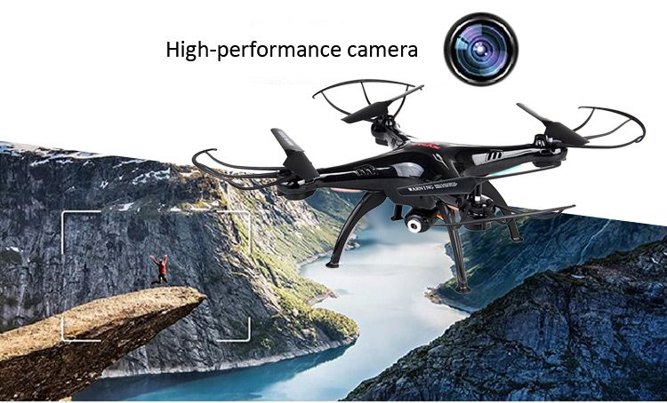 Syma X5SC New Version Syma X5SC - 1 Falcon HD Camera 4 Channel 2.4G RC Quadcopter 6 Axis 3D Flip Fly UFO #drone