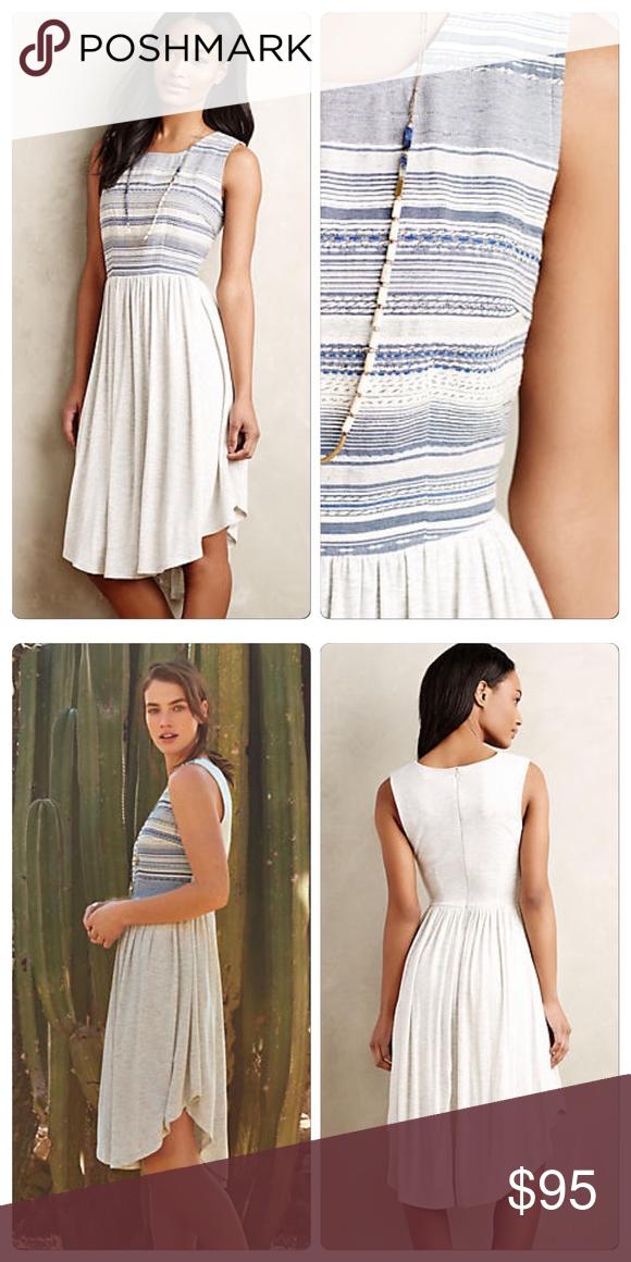 72016b5f9bb19 Anthropologie Sabado Dress DETAILS By Dolan Left Coast Rayon-spandex knit;  cotton, polyester