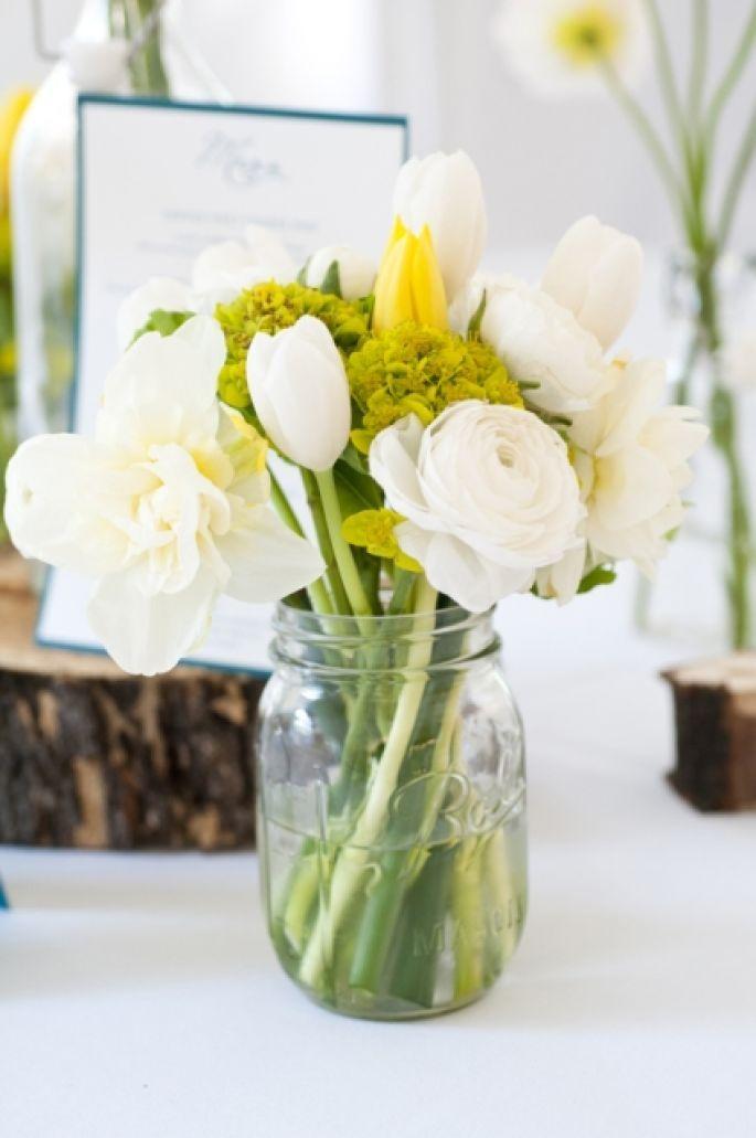DIY : des centres de table rustiques, champêtres et vintage ...
