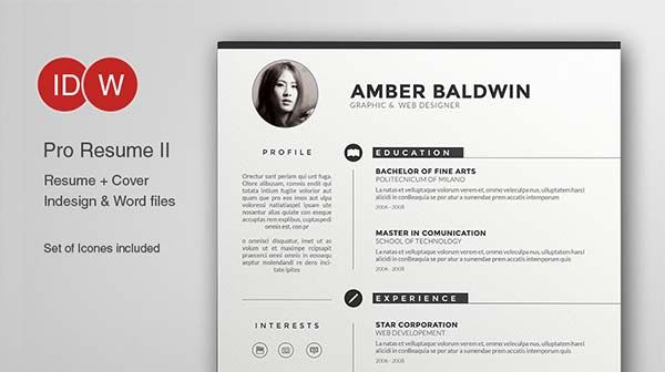 Illustrator Resume Templates Microsoft Word Resume Templates  Bewlelau  Pinterest  Template