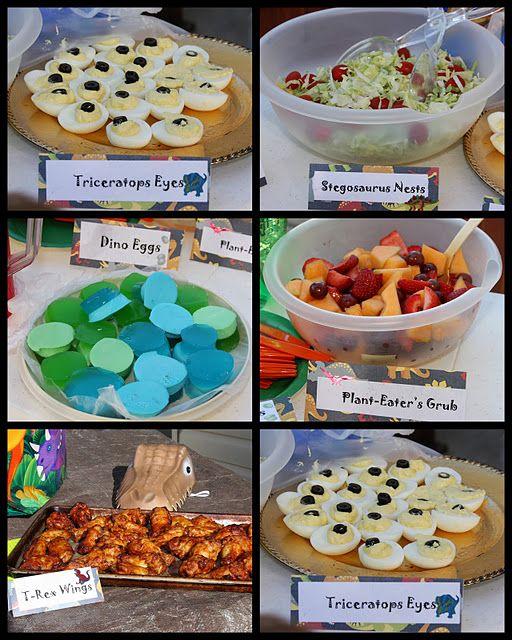 Creative Juices Dinosaur Birthday Party Food Dinosaur Themed Birthday Party Dinosaur Theme Party