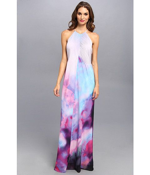 Ted baker maxi dress butterfly