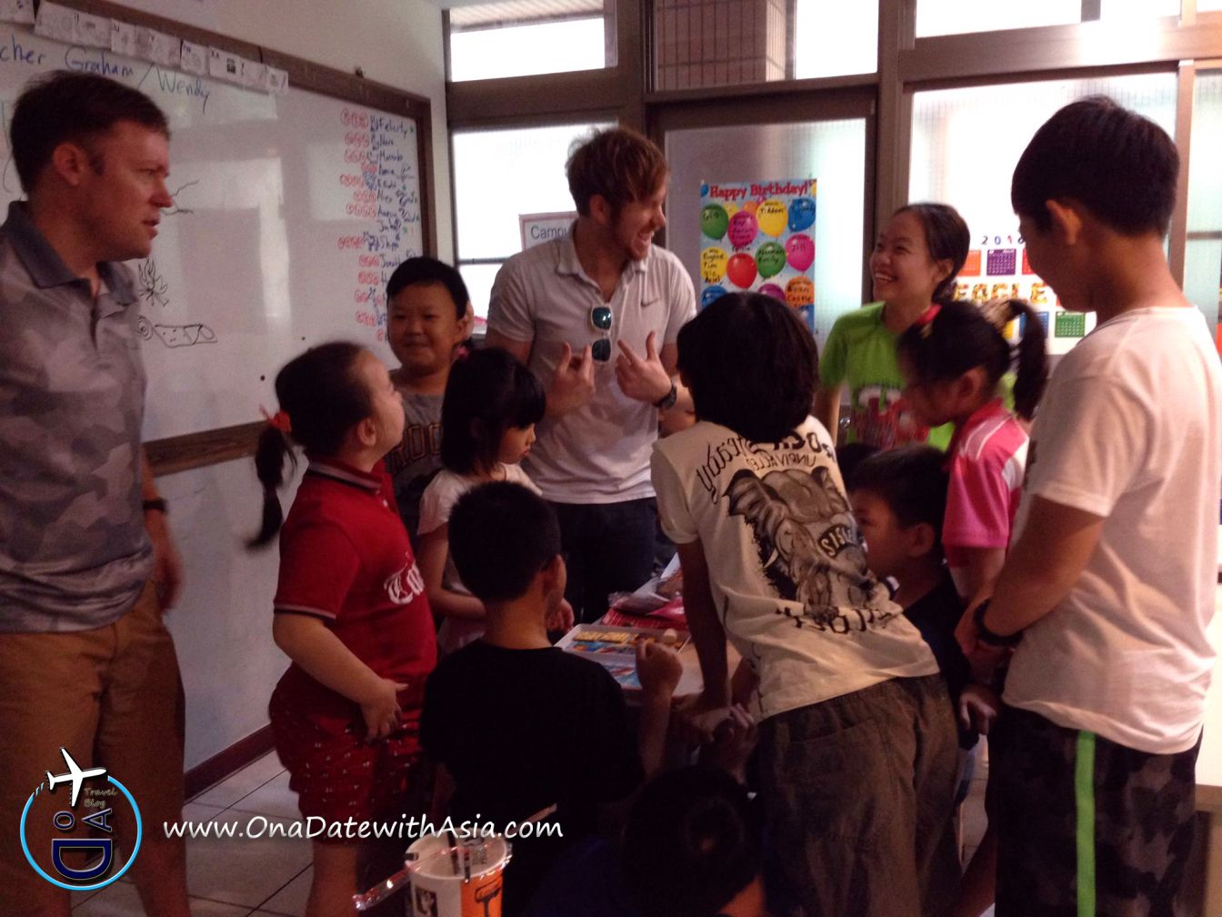 how to teach english in taiwan