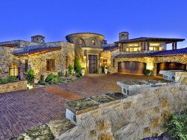 block and stone construction house in scottsdale arizona a house rh pinterest ca