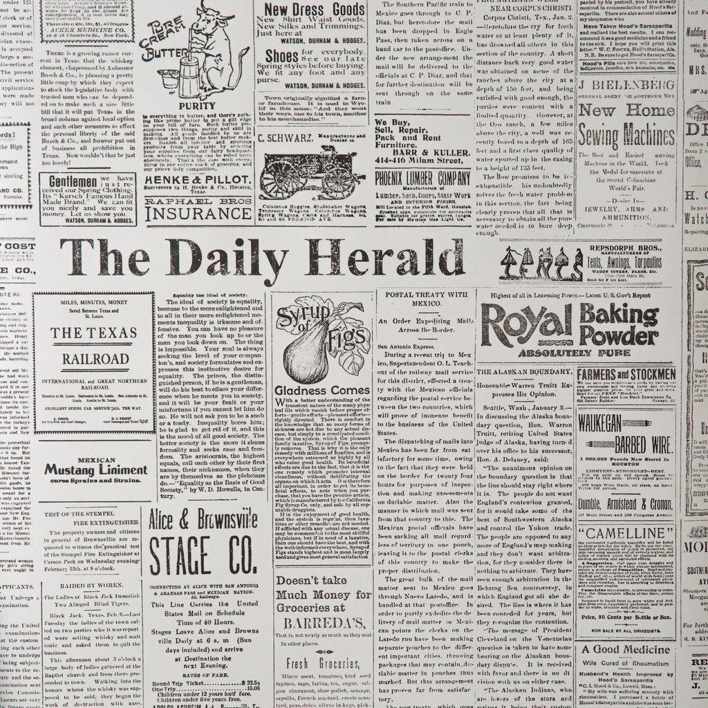 newspaper wallpaper | house in 2018 | pinterest | newspaper