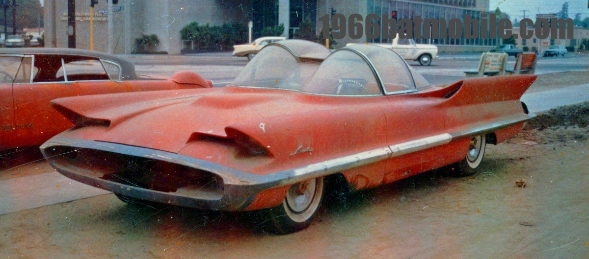 chad glass original 1966 television car batmobile started with a rh pinterest com
