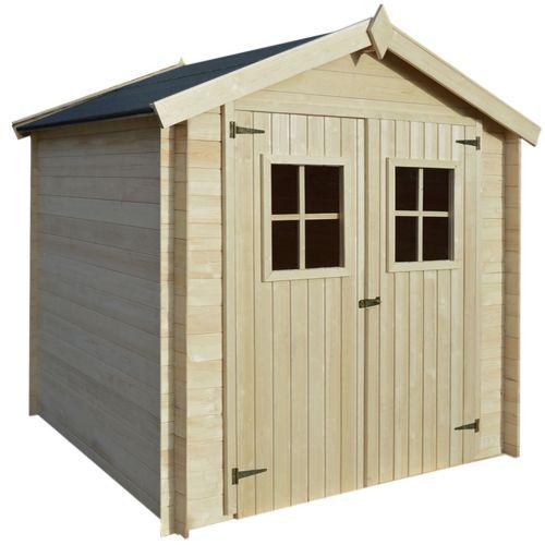 19 mm Gartenhaus Gerätehaus Blockhaus Schuppen Geräteschuppen Holz