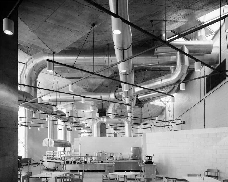 Kahn en la fábrica Oliveti, 1966-1970