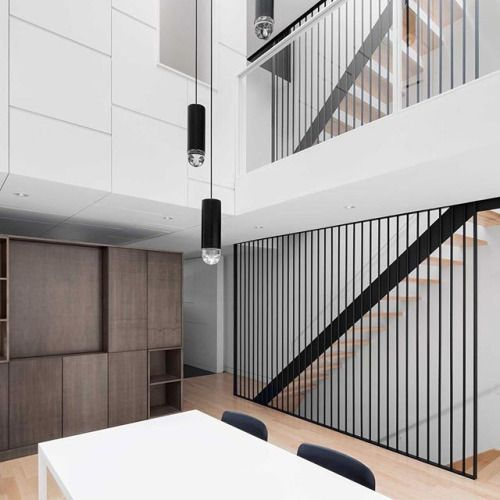 The renovation of this Montreal townhouse by local firm