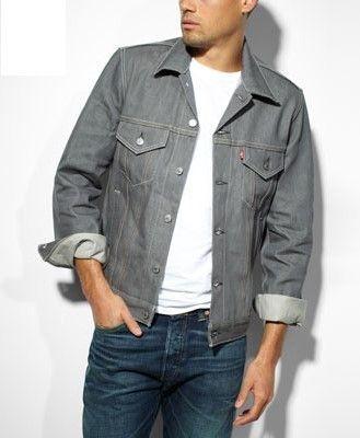RigidOriginal Grey Standart Jacke Levis Fit Jeans yfvg7Yb6
