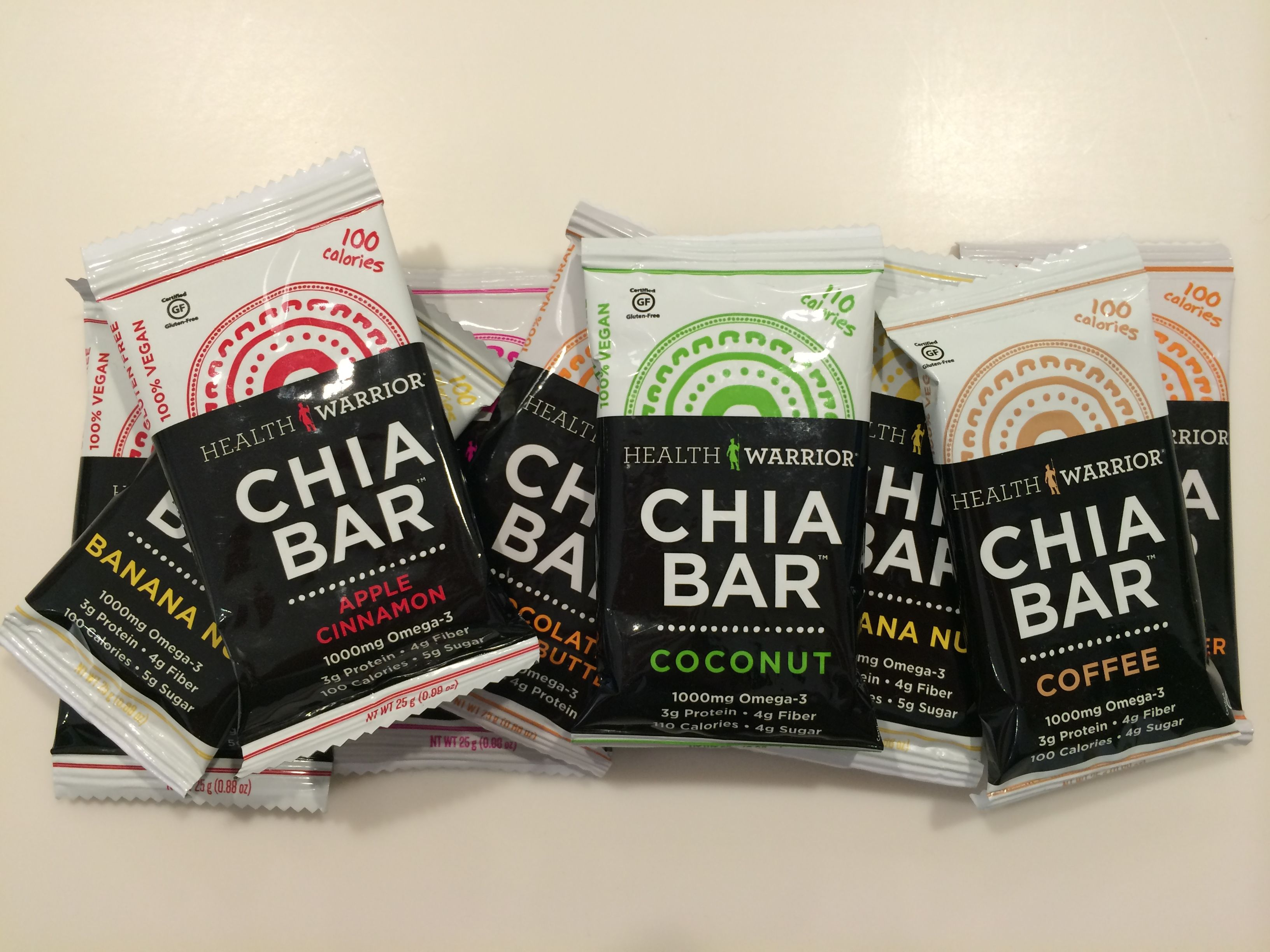 Get your health warrior chia bars at the swerve juice bar