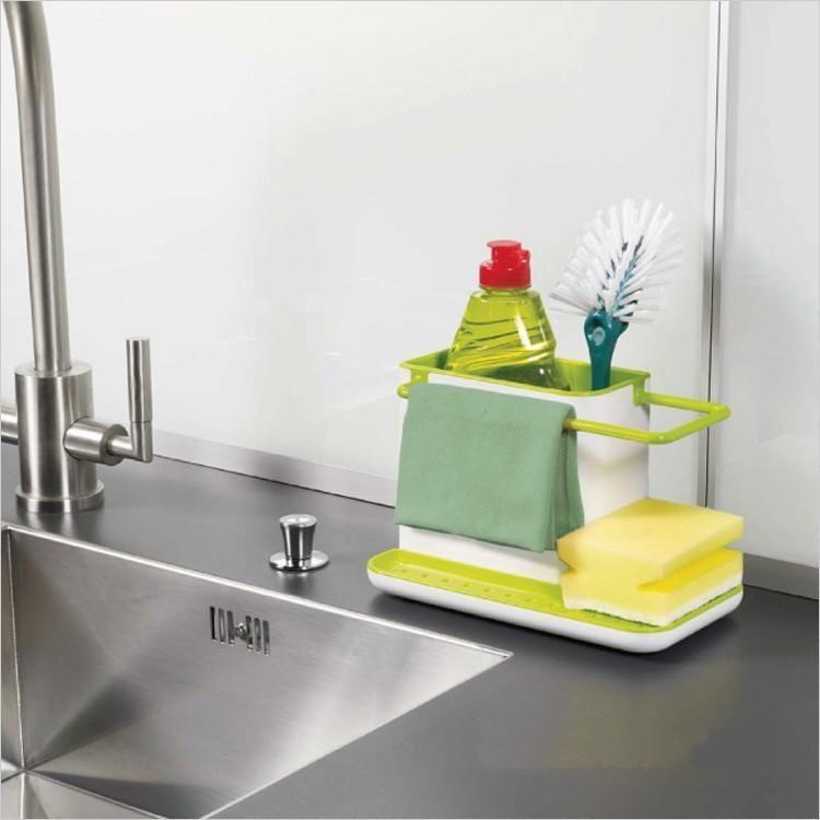 Kitchen Sink Rack Sponge Holder Cleaning Holder Cleaning  Drain Rack Organizer