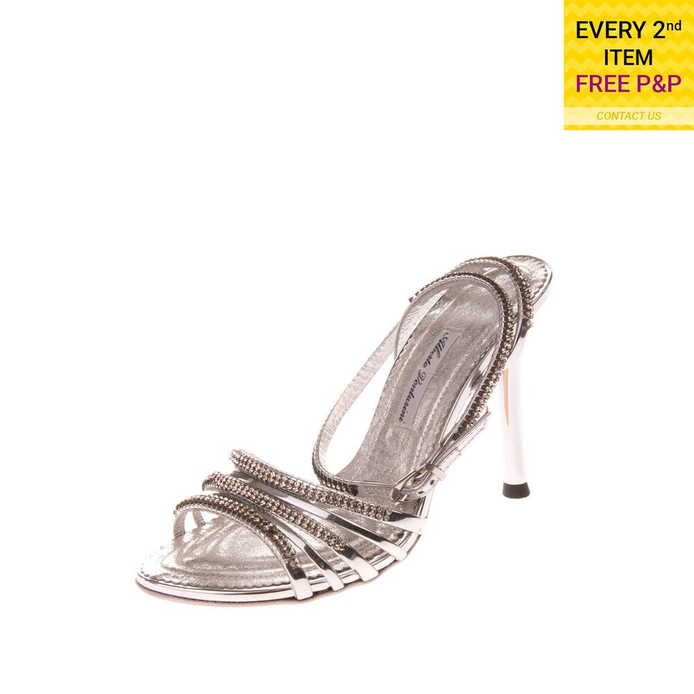 Rrp €155 Fornarina Slingback Sandals Size 40 Uk 6 Contrast Leather Made In Italy Clothing, Shoes & Accessories
