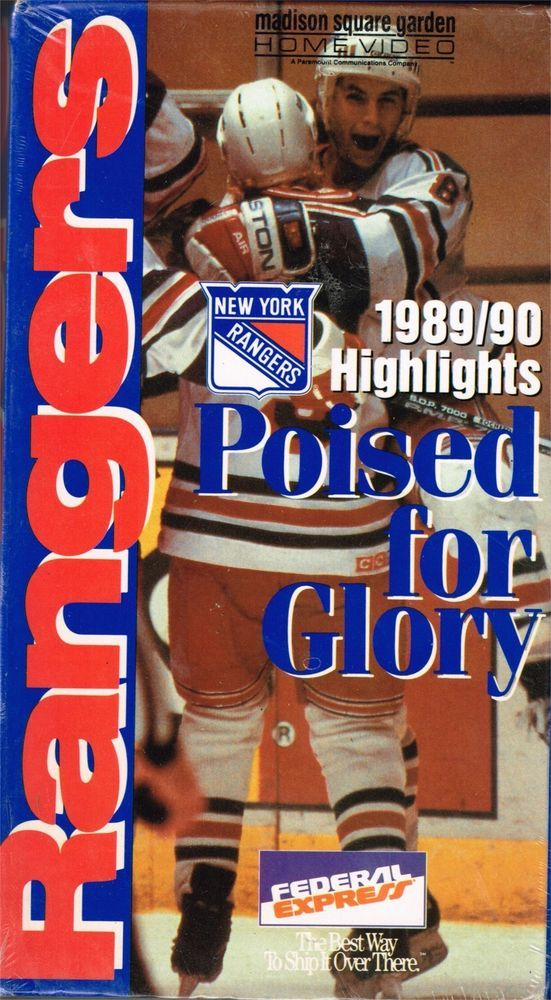 huge discount 977ff 76643 89/90 New York Rangers highlights poised for glory new ...