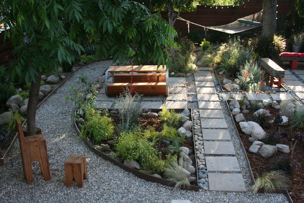 rainwater garden design Grey water garden