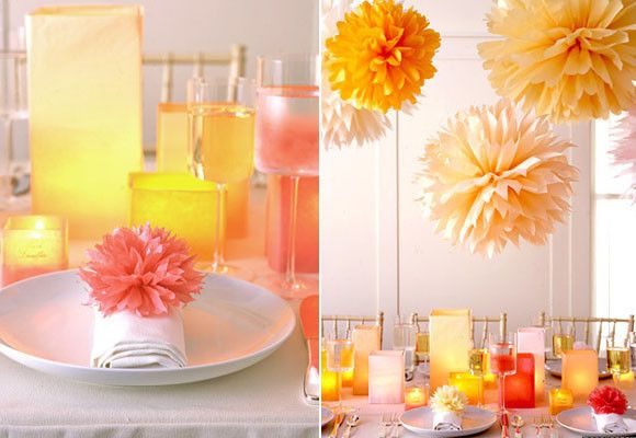 Pompones de papel para decoracion bodas guipuzcoa for Papel de decoracion