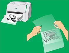 make silk screen stencils wikihow to make crafts diy siebdruck drucken y siebdruck