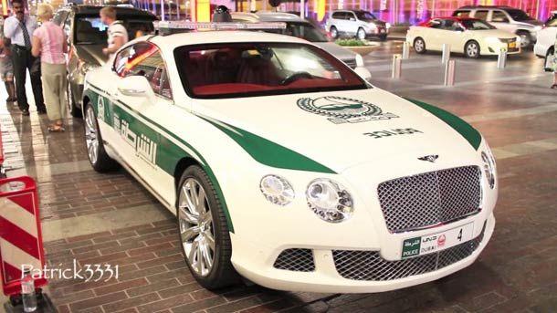 Les incroyables voitures de sport de la police de duba - Voitures de sport la nouvelle gt de mclaren ...