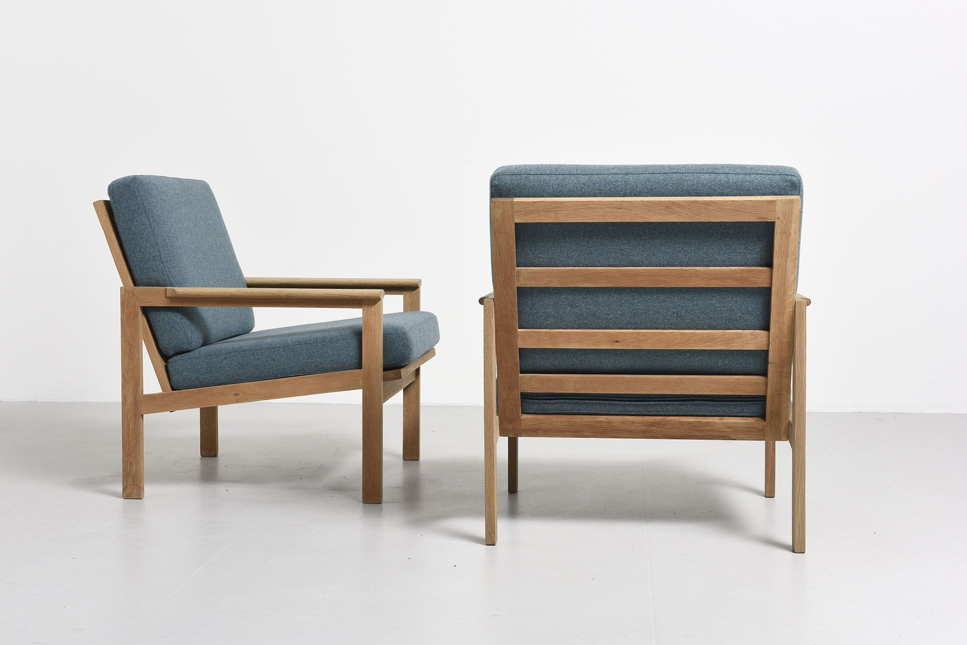 2 CAPELLA CHAIRS IN OAK by ILLUM