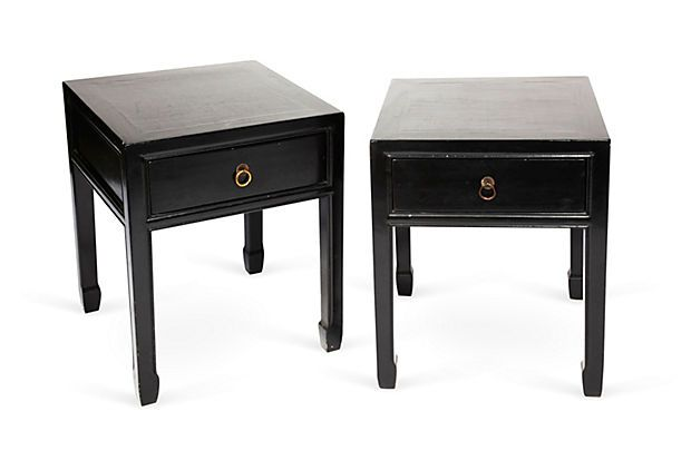 Vintage French Side Tables