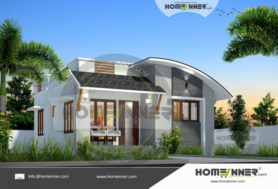 Small 650 sq ft Single Floor House