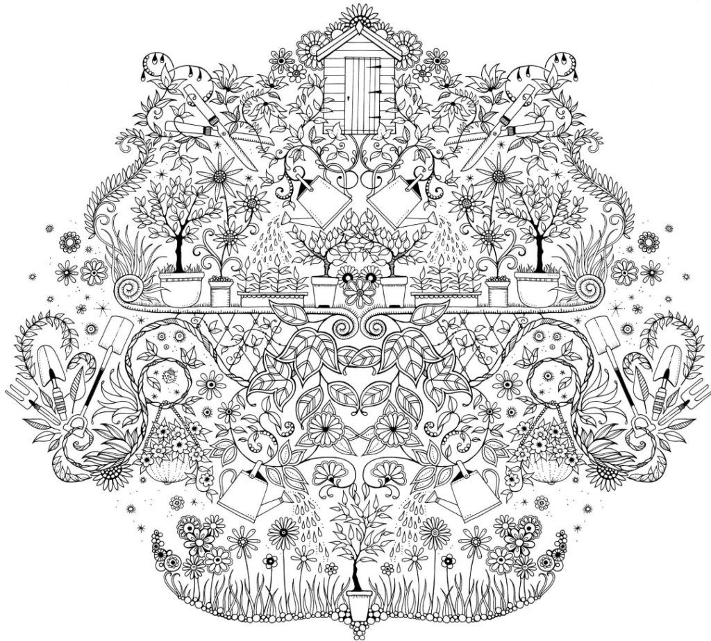 Coloring Rocks Secret Garden Coloring Book Garden Coloring Pages Coloring Pages