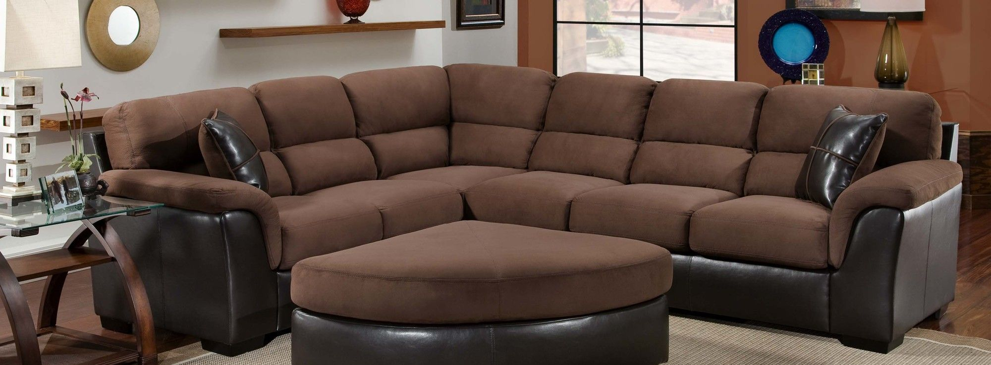Chelsea Home McLean 2 Piece Sectional Sofa